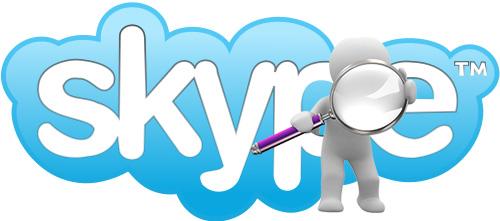 найти файлы скайп